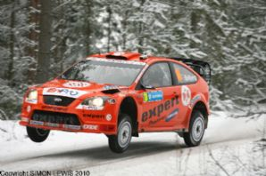 Ford Focus WRC Henning Solberg. Swedish Rally 2007 (b)